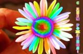 Открытка с Днем Рождения, цветы, цветик семицтветик