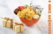 Открытка с Днем Рождения, цветы, подарок